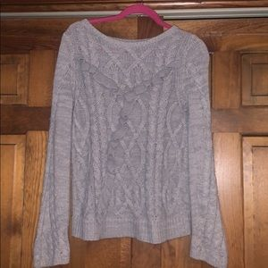 Lauren Conrad Cable knit sweater